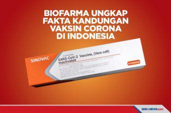 Kandungan Vaksin Corona di Indonesia Diungkap Biofarma