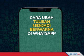 Cara Mengubah Tulisan Menjadi Berwarna di WhatsApp