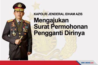 Jenderal Idham Azis Mengajukan Surat Permohonan Pengganti Kapolri