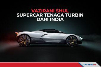 Mengenal Vazirani Shul, Supercar Tenaga Turbin dari India