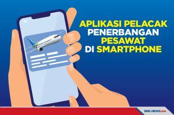 5 Aplikasi Pelacak Penerbangan Pesawat di Smartphone