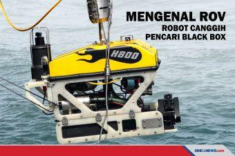 Mengenal ROV, Robot Canggih Pencari Black Box