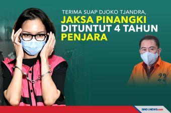Terima Suap Djoko Tjandra, Jaksa Pinangki Dituntut 4 Tahun Penjara