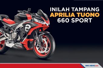 Inilah Aprilia Tuono 660 Sport Naked, Sporty, dan Elegan