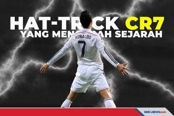 Lima Hat-trick Cristiano Ronaldo yang Mengubah Sejarah