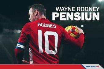 Jadi Pelatih, Rooney Resmi Pensiun Jadi Pemain