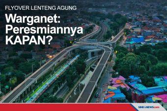 Pamer Flyover Lenteng Agung, Warganet: Peresmiannya Kapan?