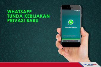 WhatsApp Umumkan penundaan Kebijakan Privasi Baru