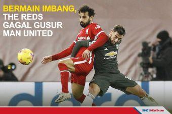 Imbang Tanpa Gol, Liverpool Gagal Kudeta MU dari Puncak Klasemen