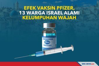 Efek Vaksin Pfizer, 13 Warga Israel Alami Kelumpuhan Wajah