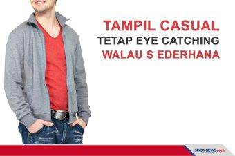 Tips Tampil Casual, Tetap Eye Catching walau Sederhana
