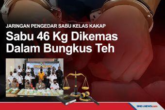 Satuan Narkoba Polrestro Depok Amankan Sabu Sebanyak 46 Kilogram