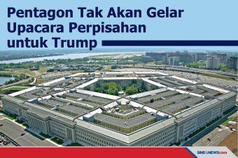 Pentagon Tak Akan Gelar Upacara Perpisahan untuk Trump