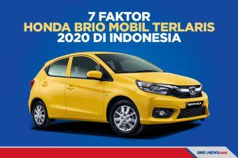 Ini 7 Faktor Honda Brio Jadi Mobil Terlaris 2020 Di Indonesia