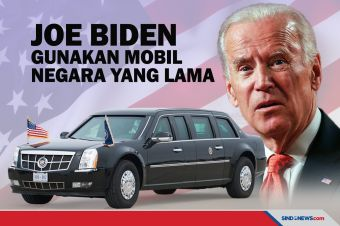 Joe Biden akan Gunakan Mobil Kenegaraan yang Lama