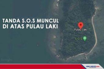 Viral Tanda S.O.S di Pulau Laki, Basarnas Belum Terima Informasi