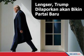 Lengser, Donald Trump Dilaporkan akan Bikin Partai Baru