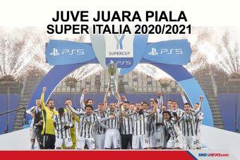 Kalahkan Napoli 2-0, Juventus Juara Piala Super Italia
