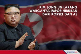 Kim Jong Un Larang Warganya Impor Hiburan dari Korsel dan AS