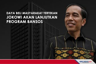 Daya Beli Masyarakat Tertekan, Jokowi Lanjutkan Program Bansos