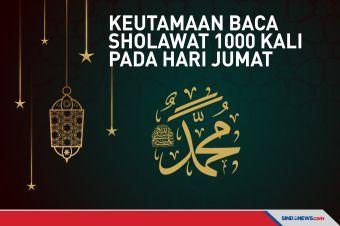 Keutamaan Baca Sholawat 1000 Kali pada Hari Jumat