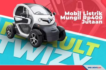 Renault Twizy, Mobil Listrik Imut yang Harganya Amit-Amit