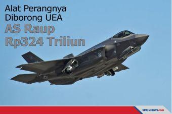 Alat Perangnya Diborong UEA, AS Raup Rp324 Triliun