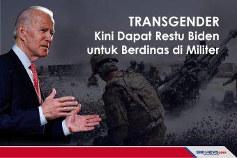 Transgender Kini Dapat Restu Biden untuk Berdinas di Militer