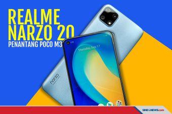 Bertarung dengan Poco M3, Ini Senjata Rahasia Realme Narzo 20