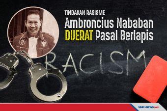 Ditetapkan Tersangka Rasisme, Ambroncius Dijerat Pasal Berlapis
