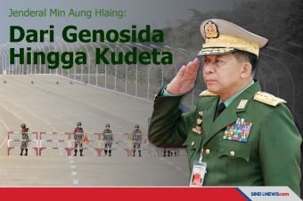 Jenderal Min Aung Hlaing: Dari Genosida Hingga Kudeta