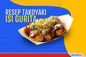 Begini Resep Takoyaki, Makin Nikmat dengan Isian Gurita