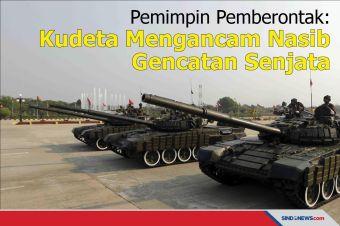 Pemimpin Pemberontak: Kudeta Mengancam Nasib Gencatan Senjata