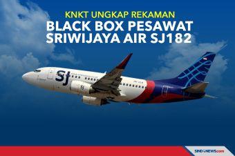 KNKT Ungkap Rekaman Black Box Pesawat Sriwijaya Air SJ182