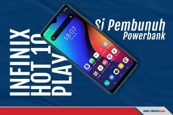 Si Pembunuh Powerbank, Infinix Hot 10 Play Dijual Cuma Rp1,2 Juta
