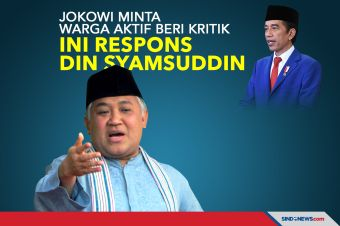 Jokowi Minta Warga Aktif Beri Kritik, Ini Respons Din Syamsuddin