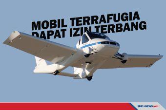 Mobil Terbang Terrafugia Dapat Izin Terbang dari FAA