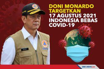 Doni Monardo Targetkan 17 Agustus 2021 Indonesia Bebas Covid-19