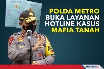 Polda Metro Buka Layanan Hotline Pengaduan Kasus Mafia Tanah