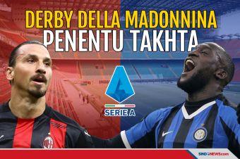 AC Milan dan Inter Saling Sikut Berebut Puncak Klasemen