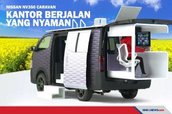 Nissan NV350 Caravan, Van Bisnis untuk Profesional Sejati
