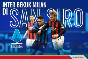 Gasak Milan di San Siro, Inter Nyaman di Puncak Klasemen