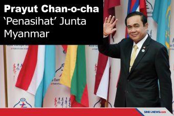 Mengenal Prayut Chan-o-cha, Penasihat Junta Myanmar