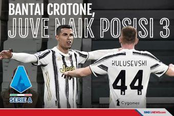 Hajar Crotone, Juventus Naik ke Posisi Tiga Klasemen
