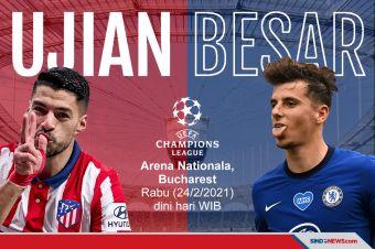 Akibat Pandemi Covid 19, Atletico vs Chelsea Digelar di Rumania
