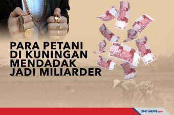 Para Petani di Kuningan Mendadak Jadi Miliarder, Borong Emas