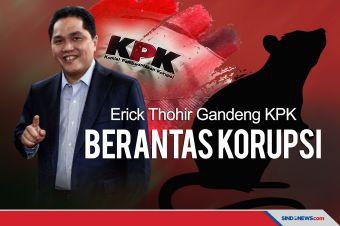 Erick Thohir Gandeng KPK Berantas Korupsi Diapresiasi