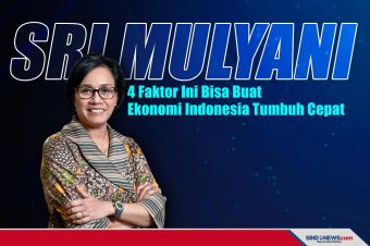 Sri Mulyani: 4 Faktor yang Buat Ekonomi Indonesia Tumbuh Cepat