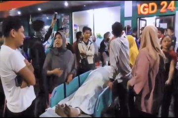 Tengah Malam Keluarga Jemput Paksa Jenazah Terduga Terpapar COVID-19 di Medan