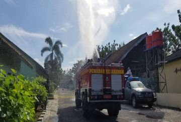 99 Orang Positif COVID-19, Area Pusdikpom Cimahi Disemprot Disinfektan